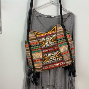 Big Buddha large Bohemian style shoulder bag/tote